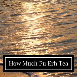 How Much Pu Erh Tea