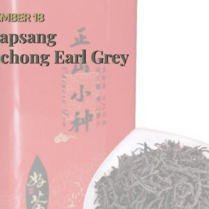 Is Lapsang Souchong Earl Grey