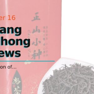 Lapsang Souchong Reviews