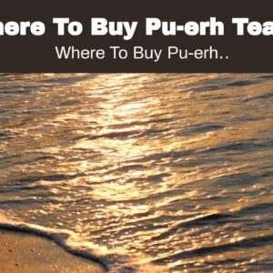 Where To Buy Pu-erh Tea In Malaysia