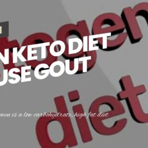 Can Keto Diet Cause Gout