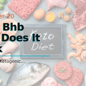Keto Bhb How Does It Work