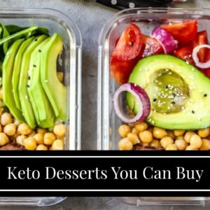 Keto Desserts You Can Buy
