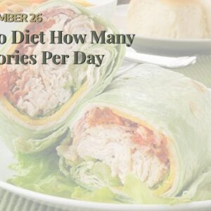 Keto Diet How Many Calories Per Day