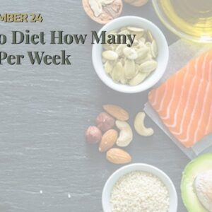 Keto Diet How Many Kg Per Week