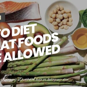 Keto Diet What Foods Are Allowed