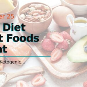 Keto Diet What Foods To Eat