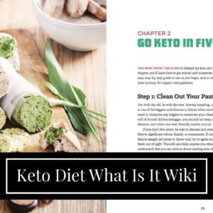 Keto Diet What Is It Wiki