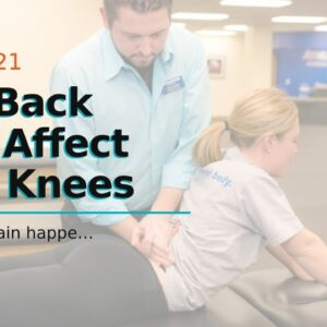 Can Back Pain Affect Your Knees