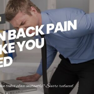 Can Back Pain Make You Tired