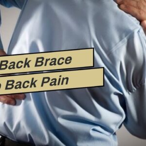 Does Back Brace Help Back Pain