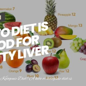 Keto Diet Is Good For Fatty Liver