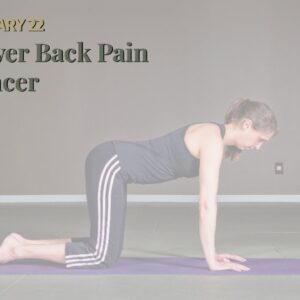 Lower Back Pain Cancer
