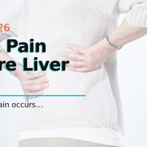 Back Pain Where Liver Is