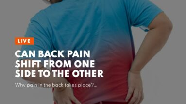 Can Back Pain Shift From One Side To The Other