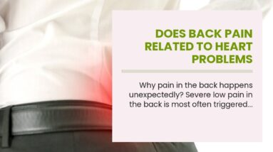 Does Back Pain Related To Heart Problems
