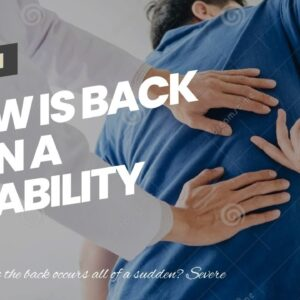 How Is Back Pain A Disability