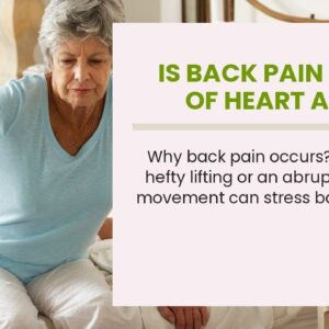 Is Back Pain A Sign Of Heart Attack