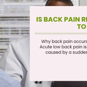 Is Back Pain Related To Covid