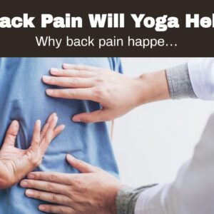 Back Pain Will Yoga Help